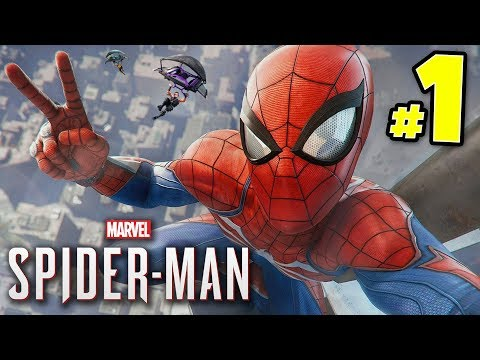 IT'S SPIDEY TIME!!! Let's Play Mavel's SPIDER-MAN! PS4 Pro 4K!