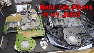 RACE Car transmission in my Jeep Wrangler TJ