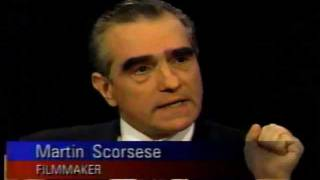 Scorsese On Fellini On Charlie Rose #1
