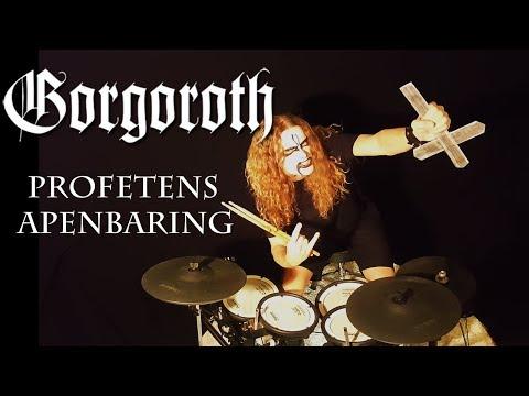 Drum Cover GORGOROTH - Profetens Apenbaring by Bobnar Simon + LYRICS