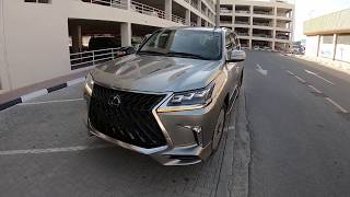 Lexus LX 570 MBS Super Sport 2019 in Ferrari Red Nappa Leather