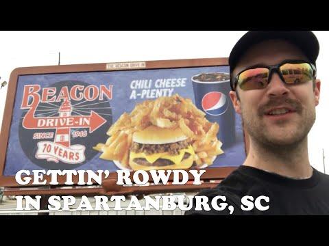 Gettin' Rowdy Y'all in Spartanburg, SC