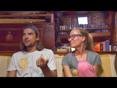 Interview -  SSB Repairs and crooked officials (5 of 6) - Sailing Vessel Delos