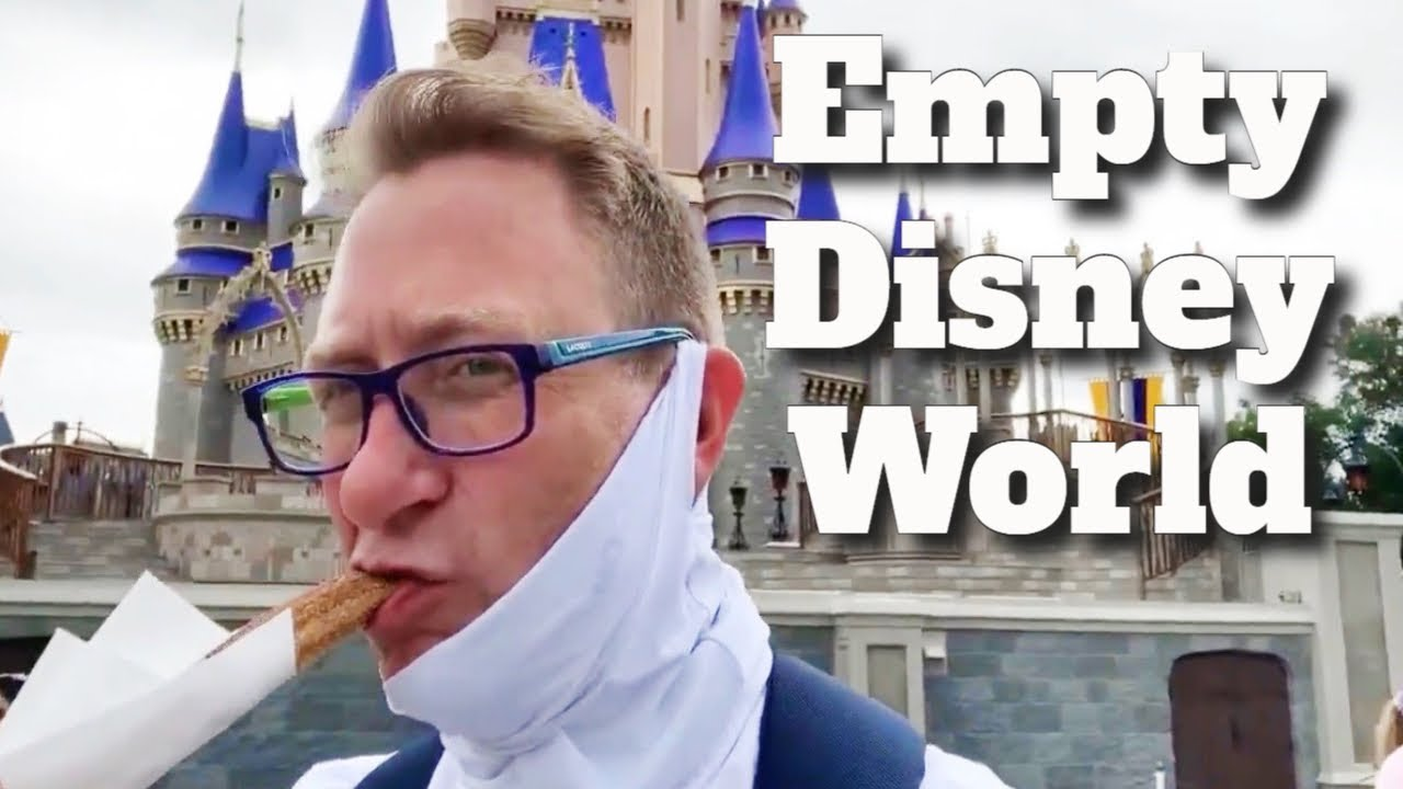 Magic Kingdom Is Empty - Food, Rides and More Enjoying a Empty Walt Disney World