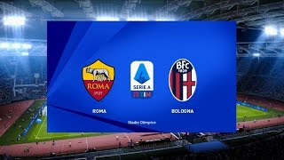 AS Roma vs Bologna | Stadio Olimpico | 2019-20 Serie A | PES 2020