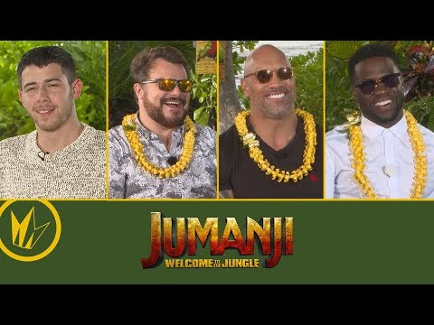 Jumanji: Welcome To The Jungle: Sit Down With the Stars – Regal Cinemas
