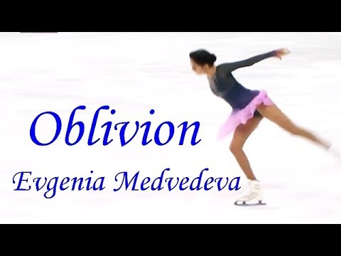 Oblivion (Piazzolla) played by 2Cellos - Figure skating by Evgenia Medvedeva