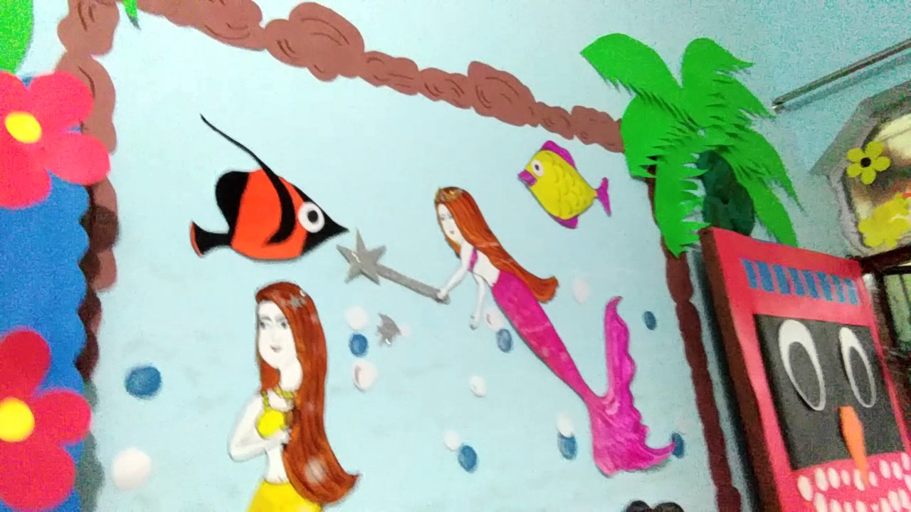 School wall decoration by me also youtube rh