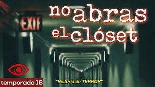 NO abras el CLÓSET | Historias de terror para escuchar bajo la lluvia | Relato 1