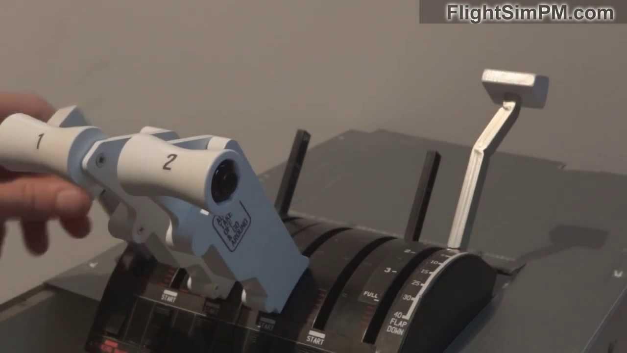 Saitek Throttle Levers B 737 For Sale Youtube