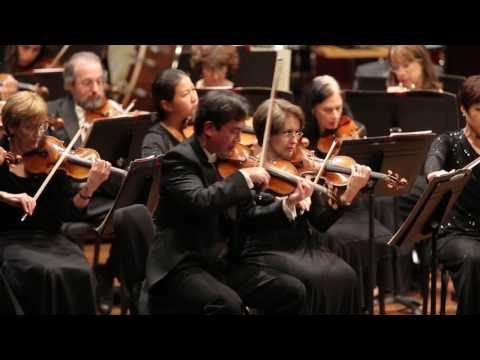 Concertmaster Frank Huang in Action
