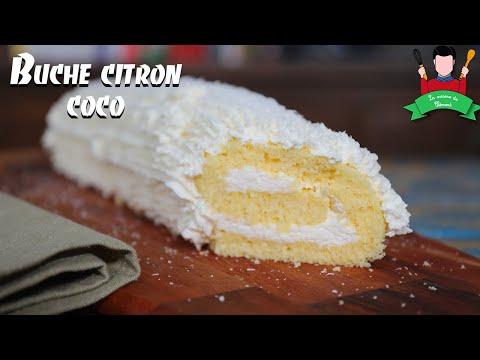recette-de-la-bûche-de-noël-:-citron-noix-de-coco