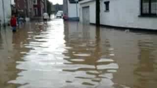 inondation à lens-sur-geer (oreye)