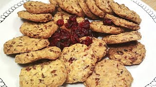 Улетает за минуту! Печенье с ФИСТАШКАМИ и КЛЮКВОЙ. Простейший рецепт. А как вкусно!