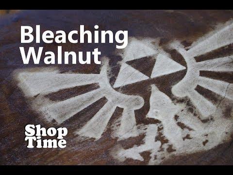 Bleaching Walnut