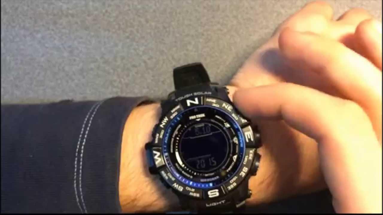 Как выставить свой часовой пояс в часах Casio G-Shock GW-A1000FC .
