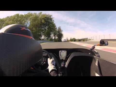 KTM X-BOW vs. Scirocco R am Bilster Berg 3.10.2013