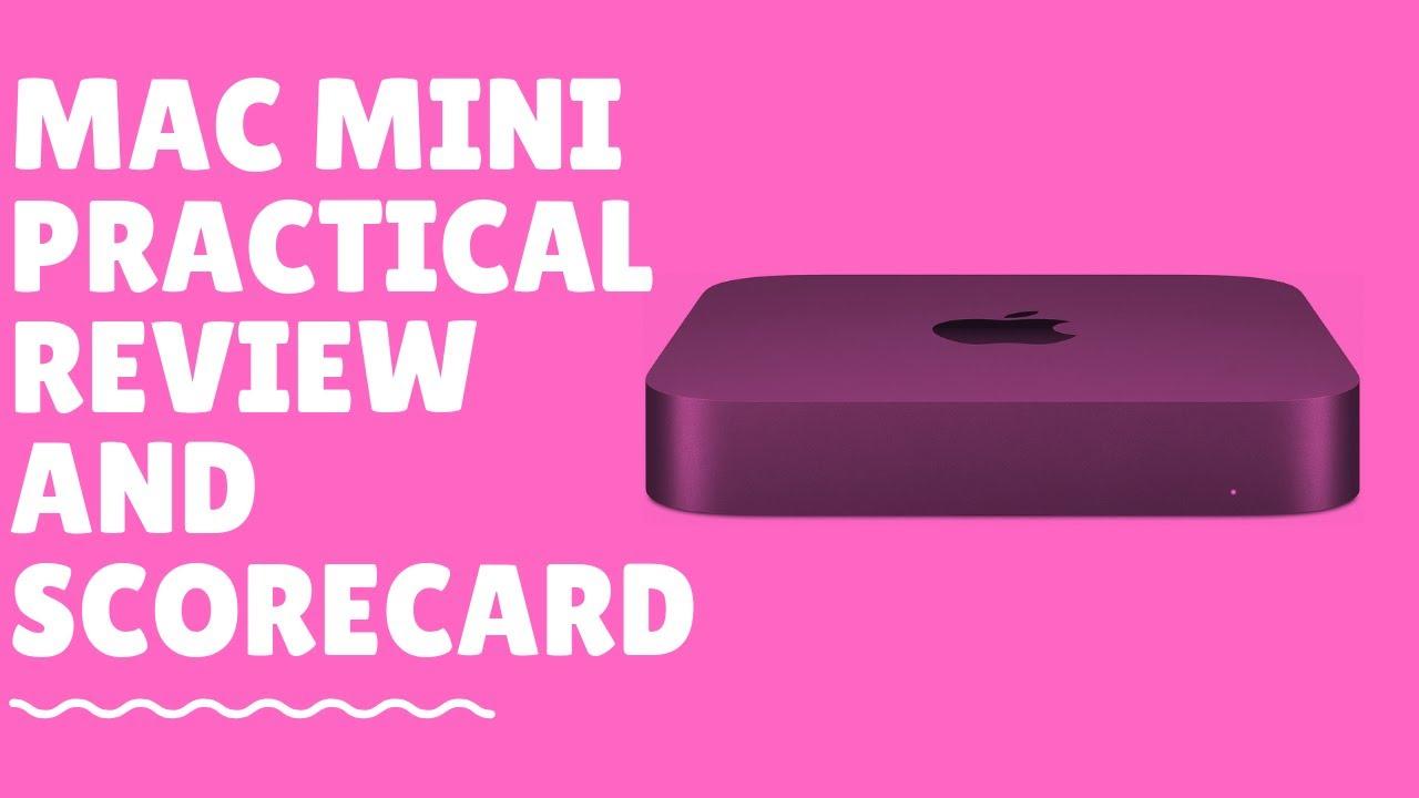 2018 Mac Mini Practical Complete Review, Benchmarks & Scorecard