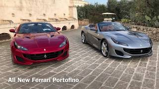 All New Ferrari Portofino Drive
