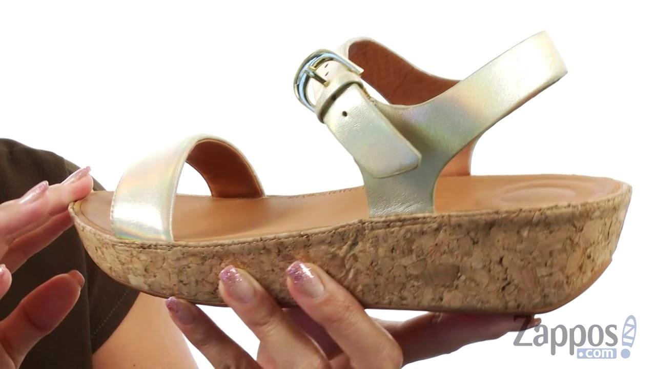 8d9efdb1c6c6 FitFlop Bon II Back Strap Sandals SKU  9020279 - YouTube