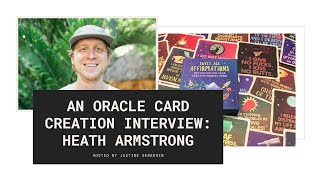 How Heath Armstrong Created His Own Oracle Deck: The Sweet Ass Affirmations Deck