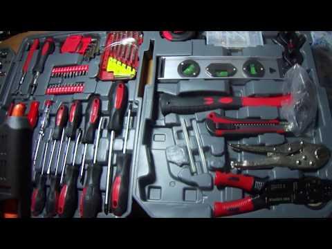 видео Набор инструментов Komfortmax kf 1062 на 187 предметов  Отзывы, где купить в Минске