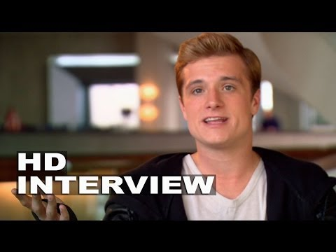 The Hunger Games: Catching Fire: Josh Hutcherson On Set Interview