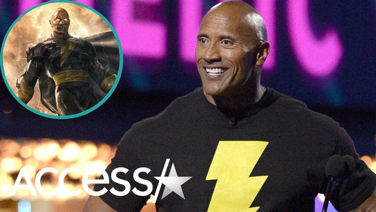 Dwayne 'The Rock' Johnson Reveals 'My Superhero Dreams Have Come True' For New Role