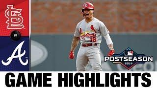 Cardinals Ride 10 Run 1st Inning, Jack Flaherty To Nlcs   Cardinals Braves Mlb Highlights