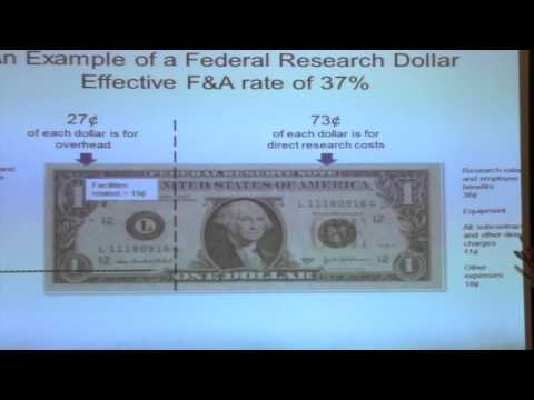 Part 2: A Simple Way to Explain the Federal Research Dollar Effective F&A Rate to Your Faculty