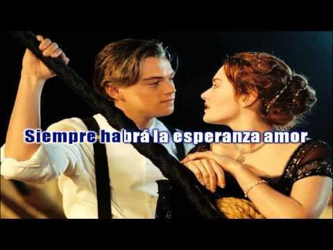 Karaoke - Español - Titanic - Celine Dion - Pista Y Musica