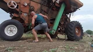 Готовим комбайн Нива СК 5 к уборке пшеницы