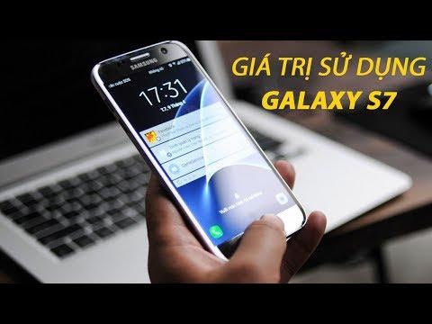 Giá trị sử dụng của Galaxy S7