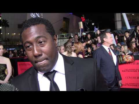 EXCLUSIVE: E. Roger Mitchell talks THE HUNGER GAMES: CATCHING FIRE at the LA premiere