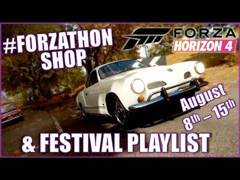 August 8th Autumn #Forzathon Shop and Festival Playlist Rewards!