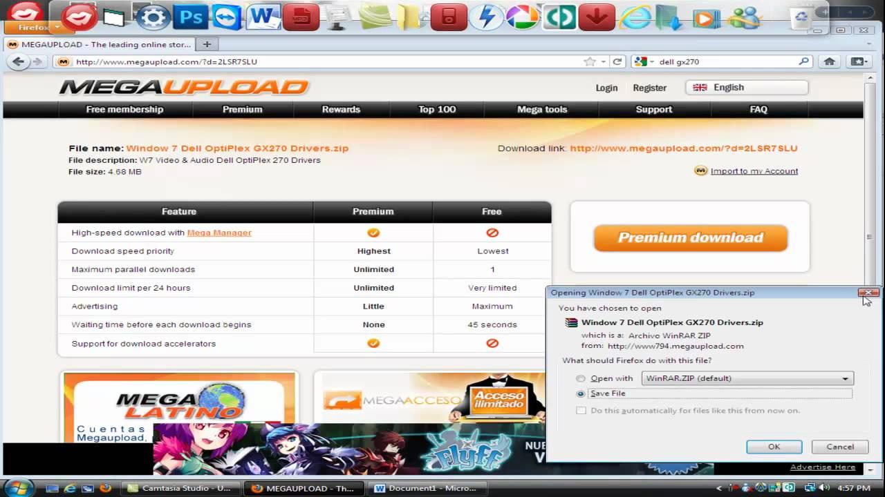 Dell optiplex gx270 driver download for windows 7.