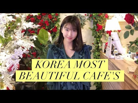 MOST BEAUTIFUL KOREAN CAFES & PINK PASTA?!?!?!??!