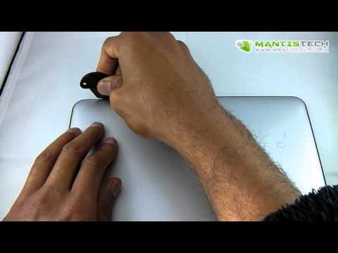 How to open and take off the back of 9.7 inch Android Tablet