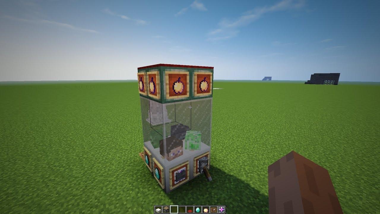Автомат в майнкрафте пстройка