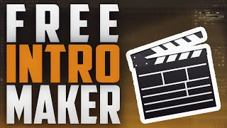 How To Make An Intro For YouTube Videos FREE! (NO Software) 2016