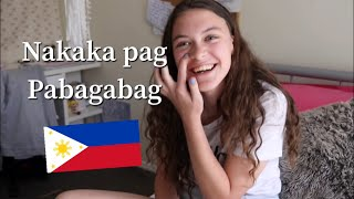 FOREIGNERS TRY PAMPILIPIT DILA CHALLENGE!