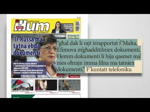 IR-RUSSA M'GĦADDIET L-EBDA DOKUMENTI LILL-MEPS