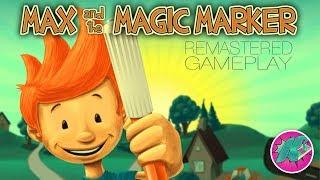 Max & The Magic Marker Remastered Gameplay