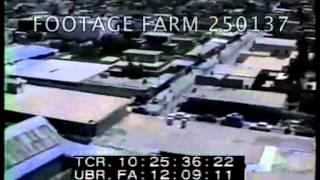 1990s-2000s-AWACS; Aerials over Kurdish towns in Northern Iraq 250137-03 | Footage Farm