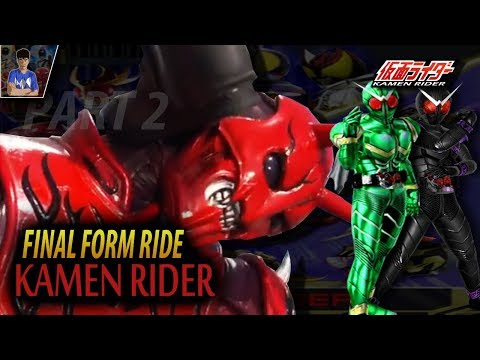 FORM LANGKAH KAMEN RIDER, FINAL FORM RIDE PART 2!! - Kamen Ride #24