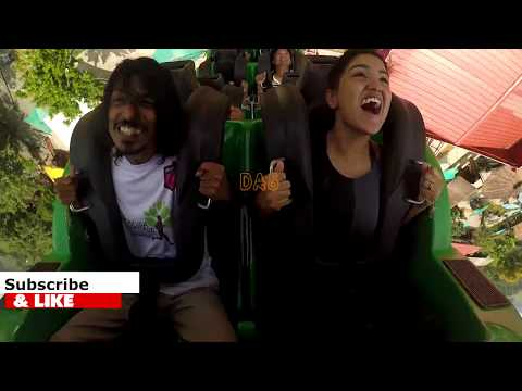 Saniya Iyyappan at  recoil Wonderla