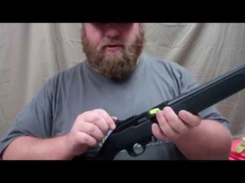 installing a williams peep site with fire sight for the