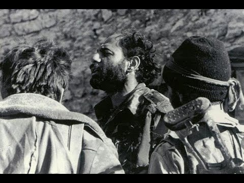 Monte Melkonian & his Victorious Forces in Liberated Kalbajar
