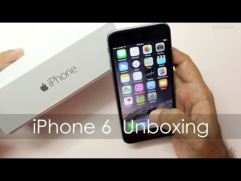 iPhone 6 Unboxing & Quick Setup Retail Indian Unit
