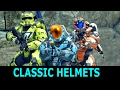 All New Classic Helmets WITH BODY ARMOR - Halo 5 Guardians